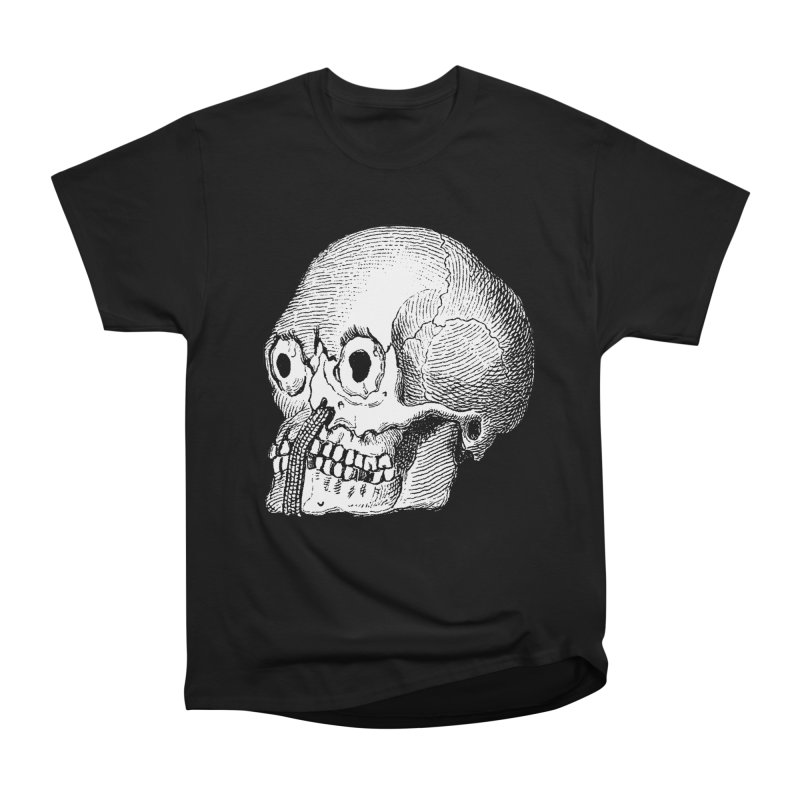 Skull Guy Men's Heavyweight T-Shirt by DOWNPOUR