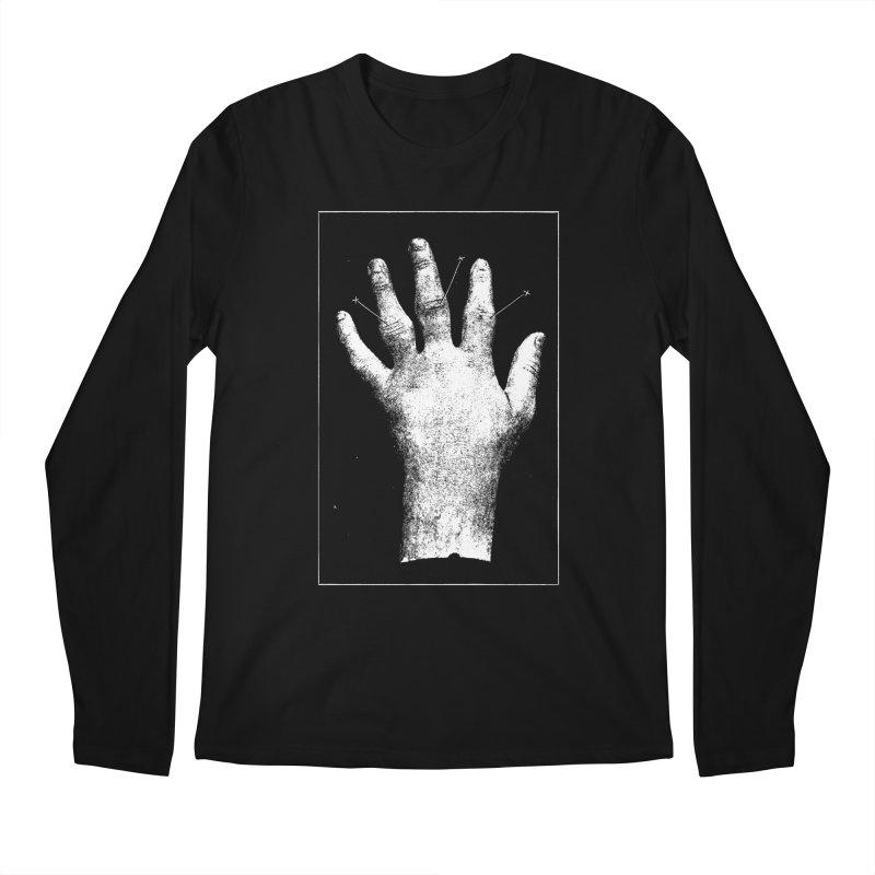 Hand Men's Regular Longsleeve T-Shirt by DOWNPOUR
