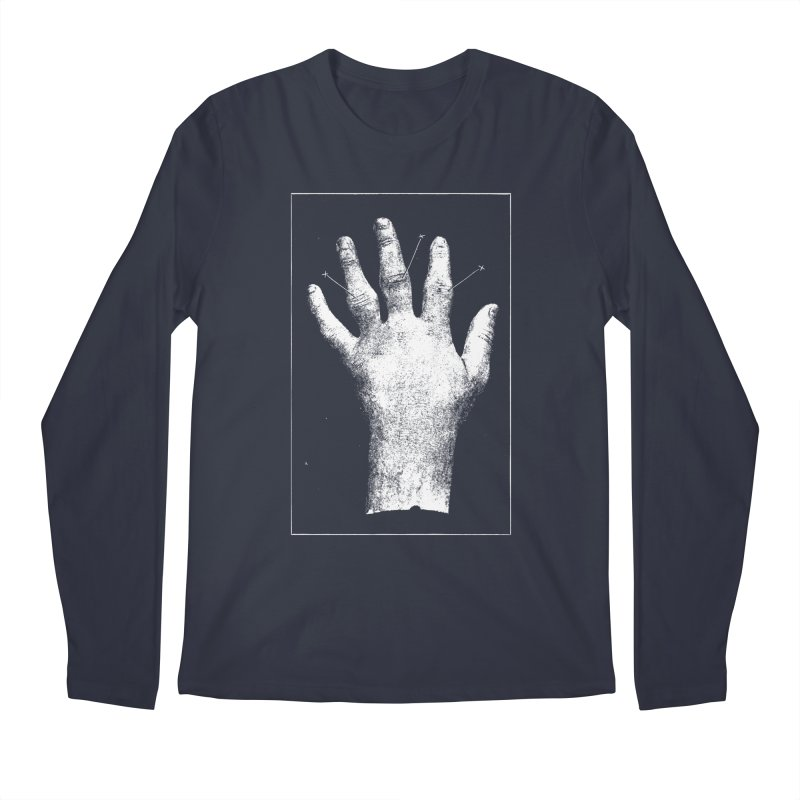 Hand Men's Regular Longsleeve T-Shirt by DOWNPOUR