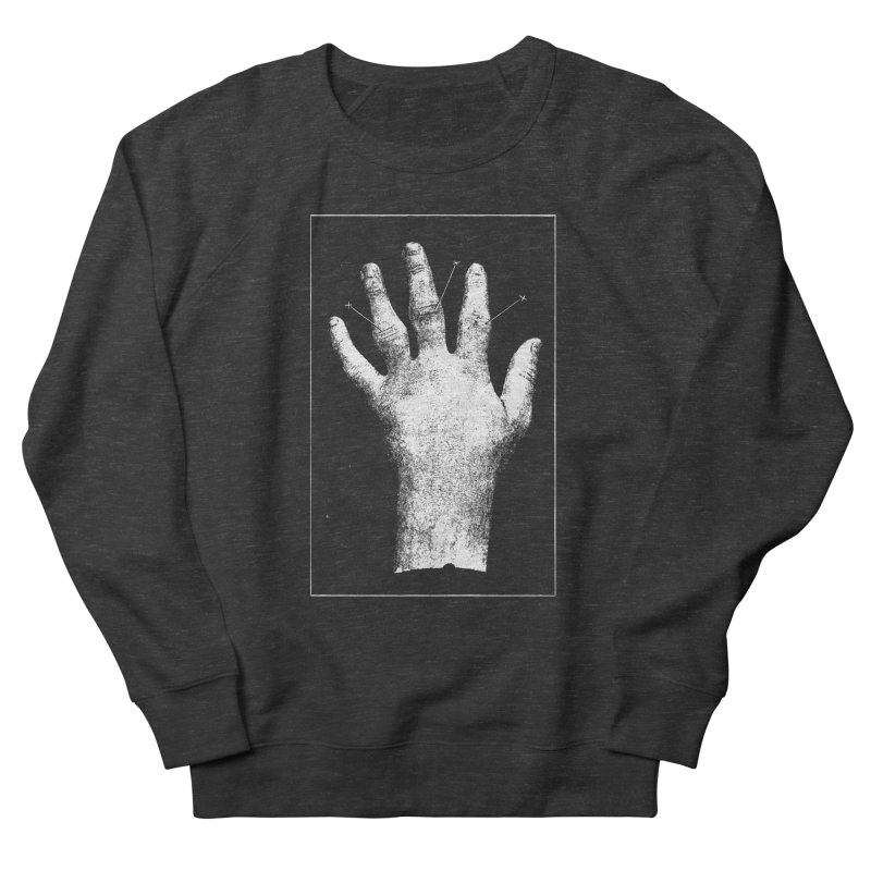 Hand Men's French Terry Sweatshirt by DOWNPOUR