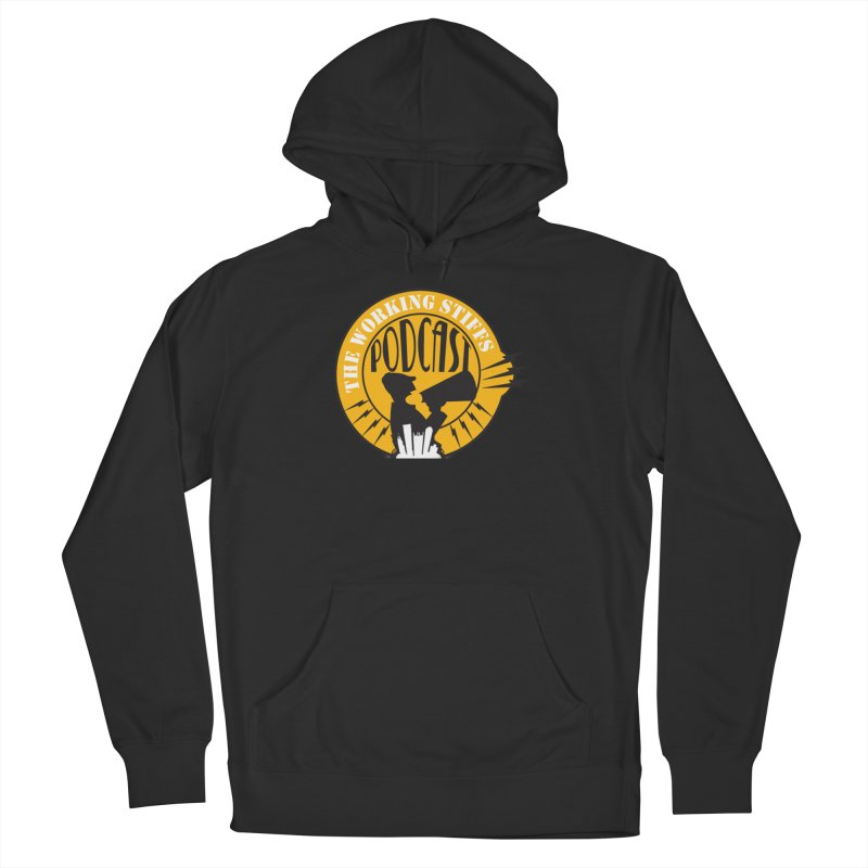 The Working Stiffs Podcast Logo Men's Pullover Hoody by The Working Stiffs Shop