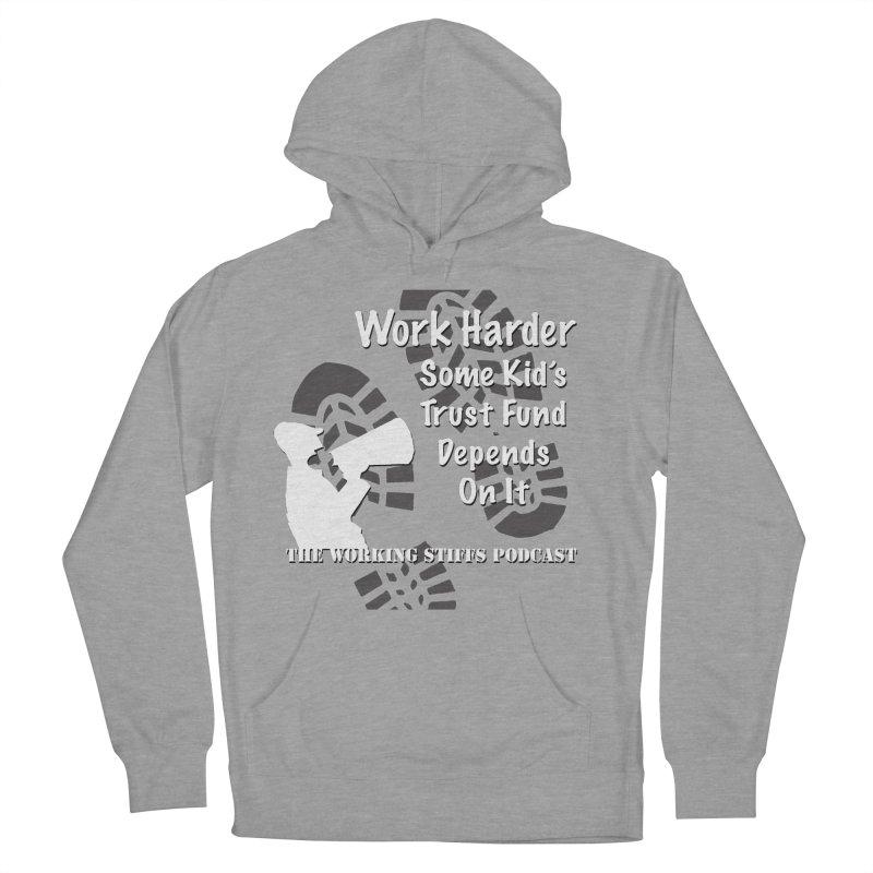 Trust Fund Kid Men's Pullover Hoody by The Working Stiffs Shop