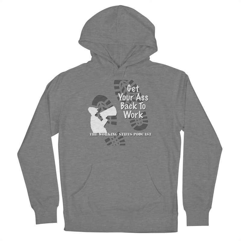 Back To Work Women's French Terry Pullover Hoody by The Working Stiffs Shop