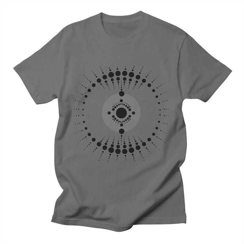 Dot Spiral 2 Men's T-Shirt by Working Whatnot's Artist Shop