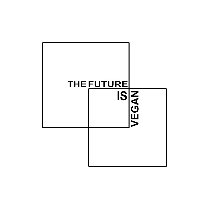 """""""The Future is Vegan"""" Men's T-Shirt by Working Whatnot's Artist Shop"""