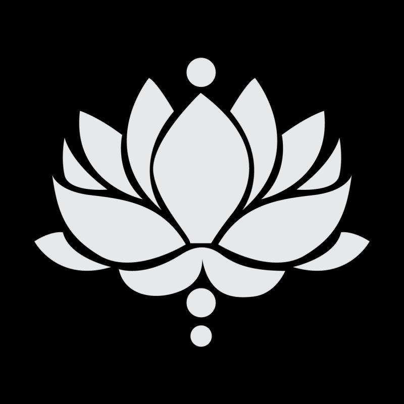 Light Grey Lotus Flower Men's T-Shirt by Working Whatnot's Artist Shop