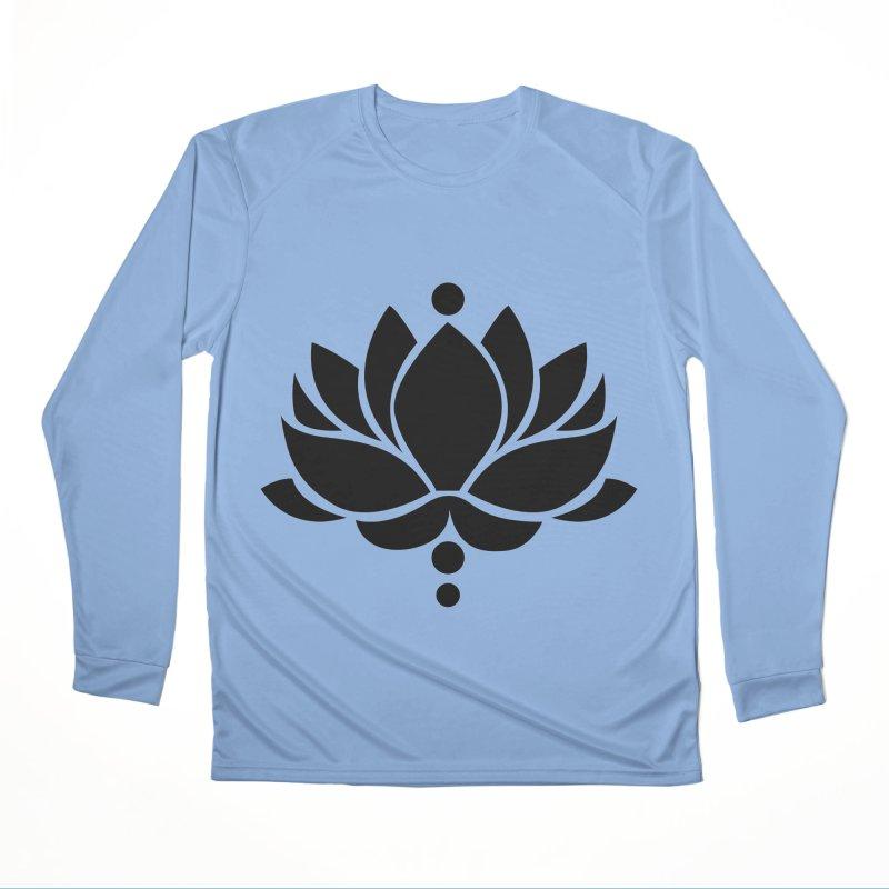 Lotus Flower Women's Longsleeve T-Shirt by Working Whatnot's Artist Shop