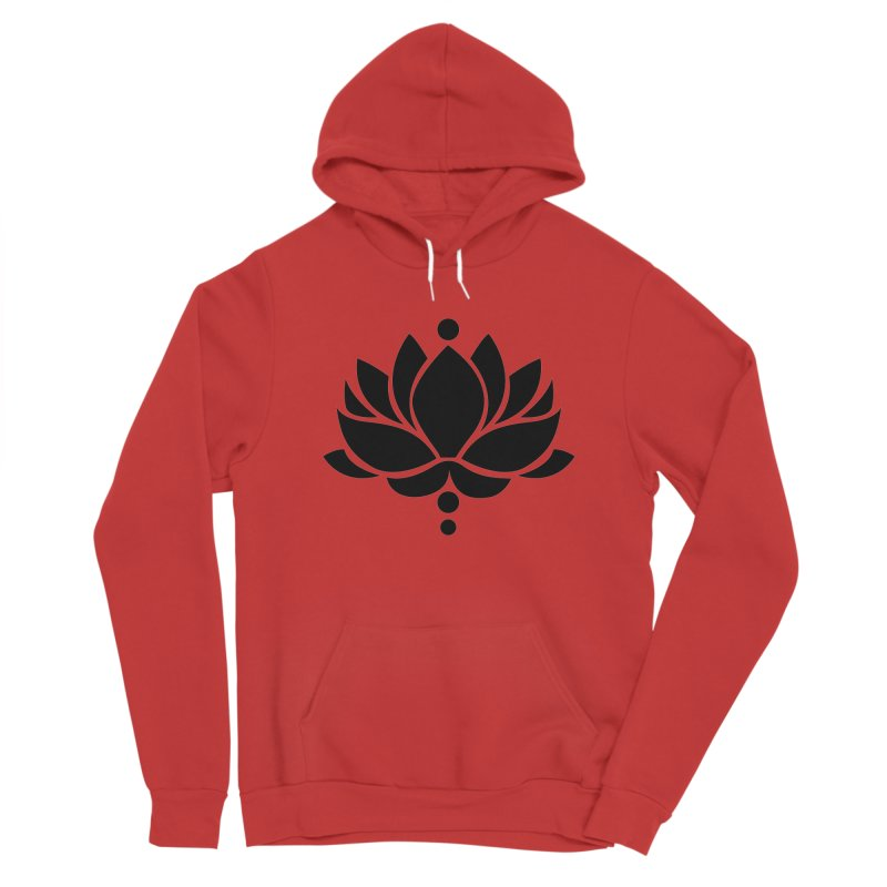 Lotus Flower Women's Pullover Hoody by Working Whatnot's Artist Shop