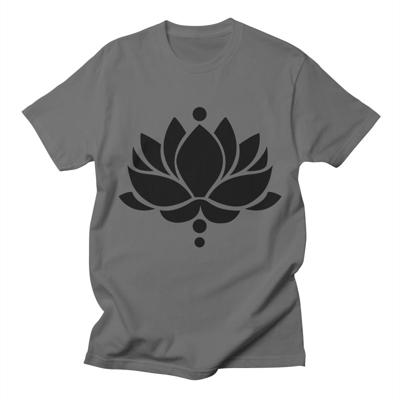 Lotus Flower Men's T-Shirt by Working Whatnot's Artist Shop