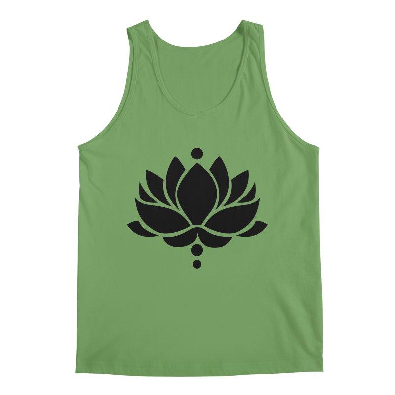 Lotus Flower Men's Tank by Working Whatnot's Artist Shop