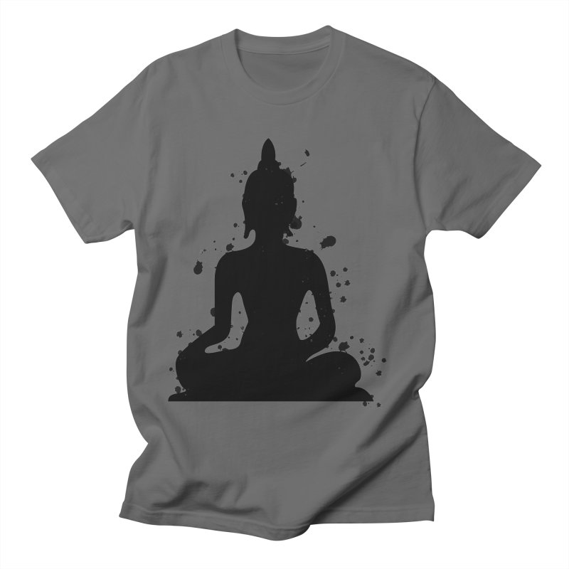 Buddha Bliss Men's T-Shirt by Working Whatnot's Artist Shop