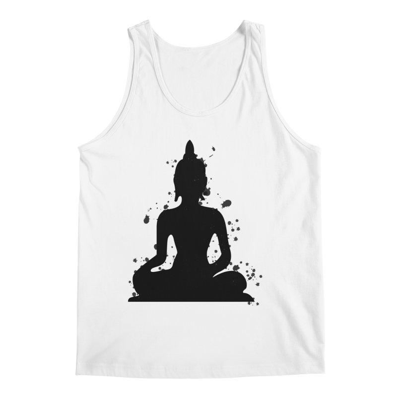 Buddha Bliss Men's Tank by Working Whatnot's Artist Shop