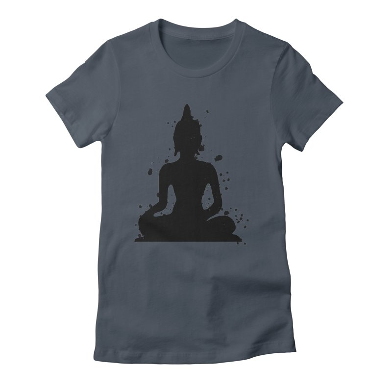 Buddha Bliss Women's T-Shirt by Working Whatnot's Artist Shop