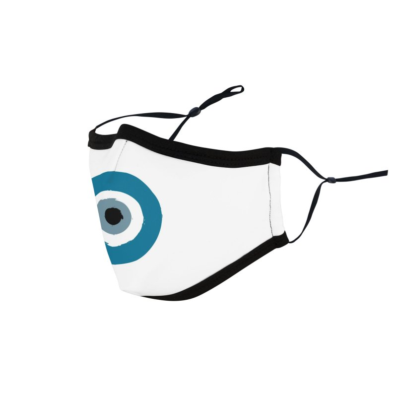 The Evil Eye Accessories Face Mask by Working Whatnot's Artist Shop