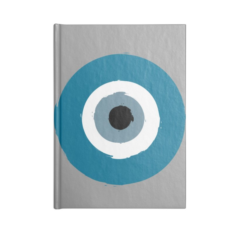 The Evil Eye Accessories Notebook by Working Whatnot's Artist Shop