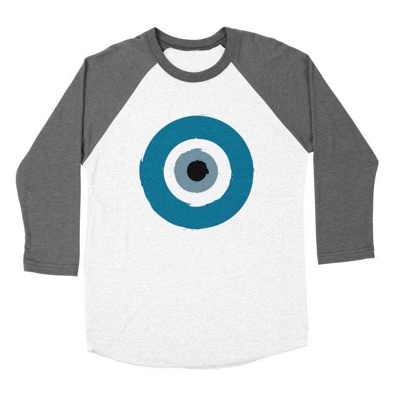 The Evil Eye Women's Longsleeve T-Shirt by Working Whatnot's Artist Shop