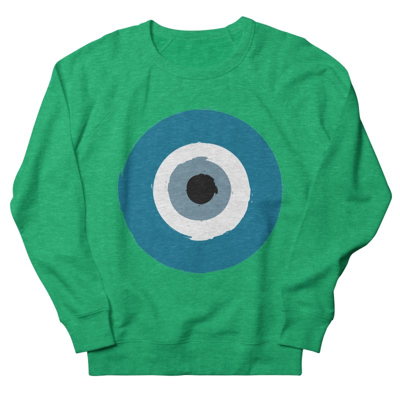 The Evil Eye Women's Sweatshirt by Working Whatnot's Artist Shop