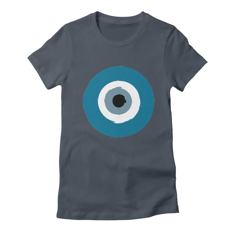 The Evil Eye Women's T-Shirt by Working Whatnot's Artist Shop
