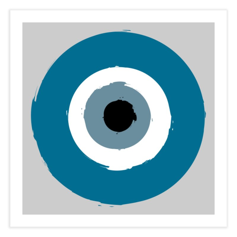 The Evil Eye Home Fine Art Print by Working Whatnot's Artist Shop