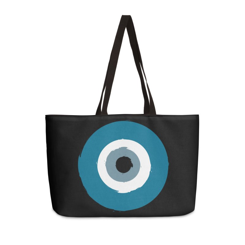 The Evil Eye Accessories Bag by Working Whatnot's Artist Shop