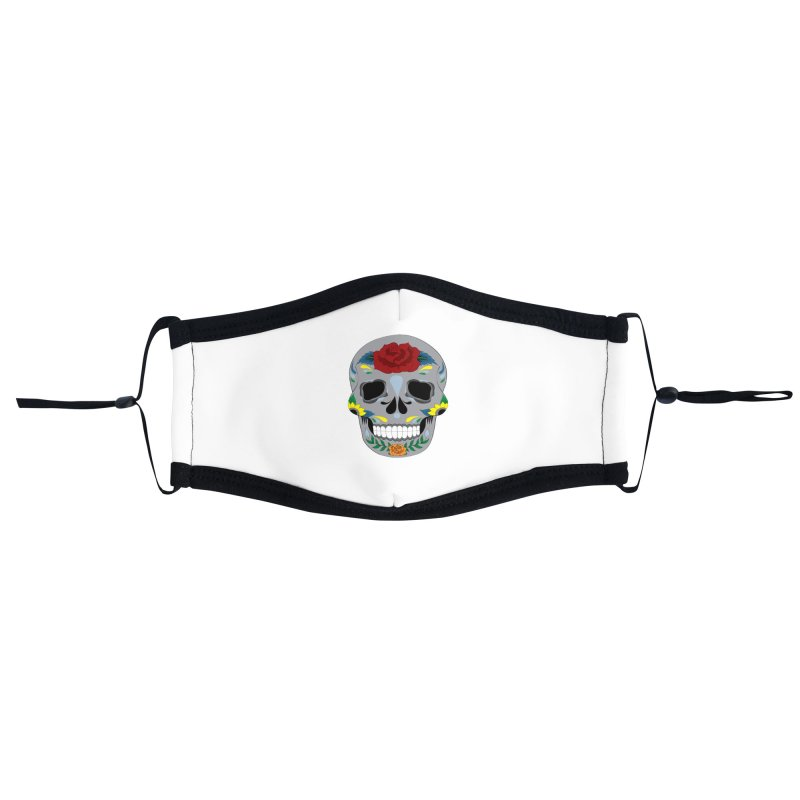 Sugar Skull Accessories Face Mask by Working Whatnot's Artist Shop