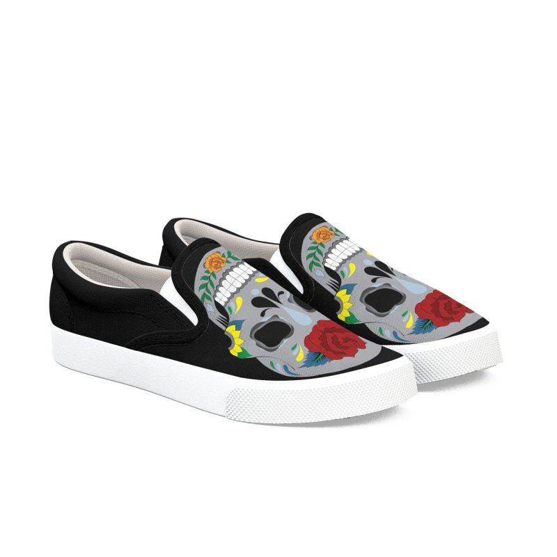 Sugar Skull Men's Shoes by Working Whatnot's Artist Shop