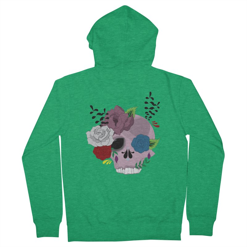 Pink Sugar Candy 2 Women's Zip-Up Hoody by Working Whatnot's Artist Shop