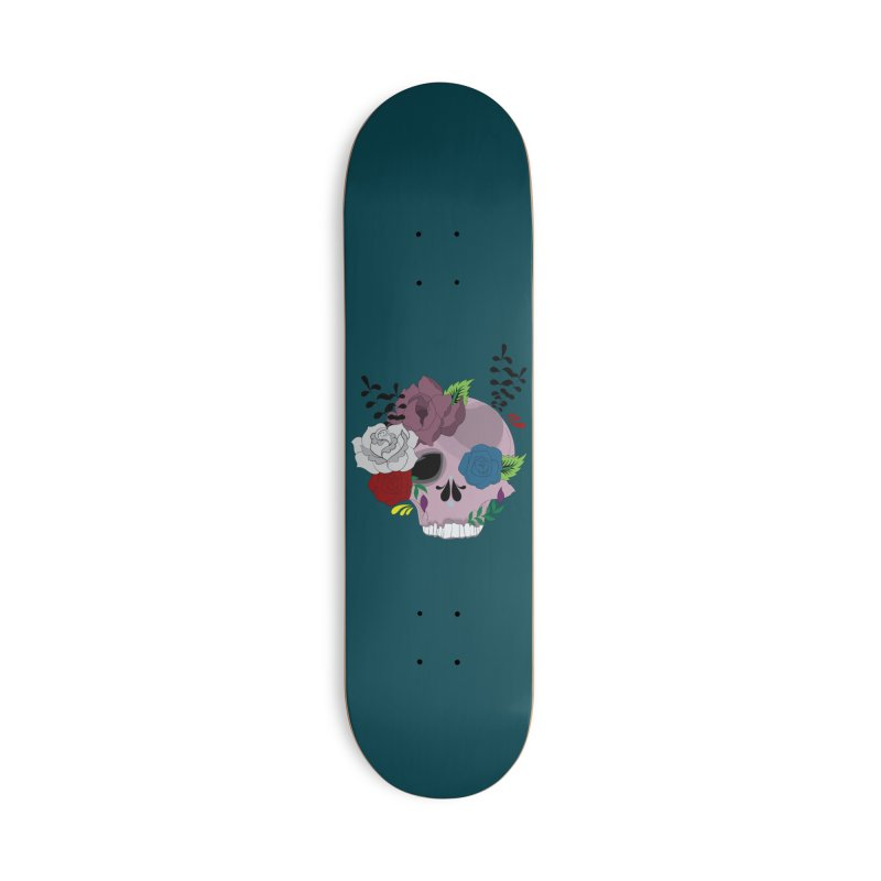 Pink Sugar Candy 2 Accessories Skateboard by Working Whatnot's Artist Shop
