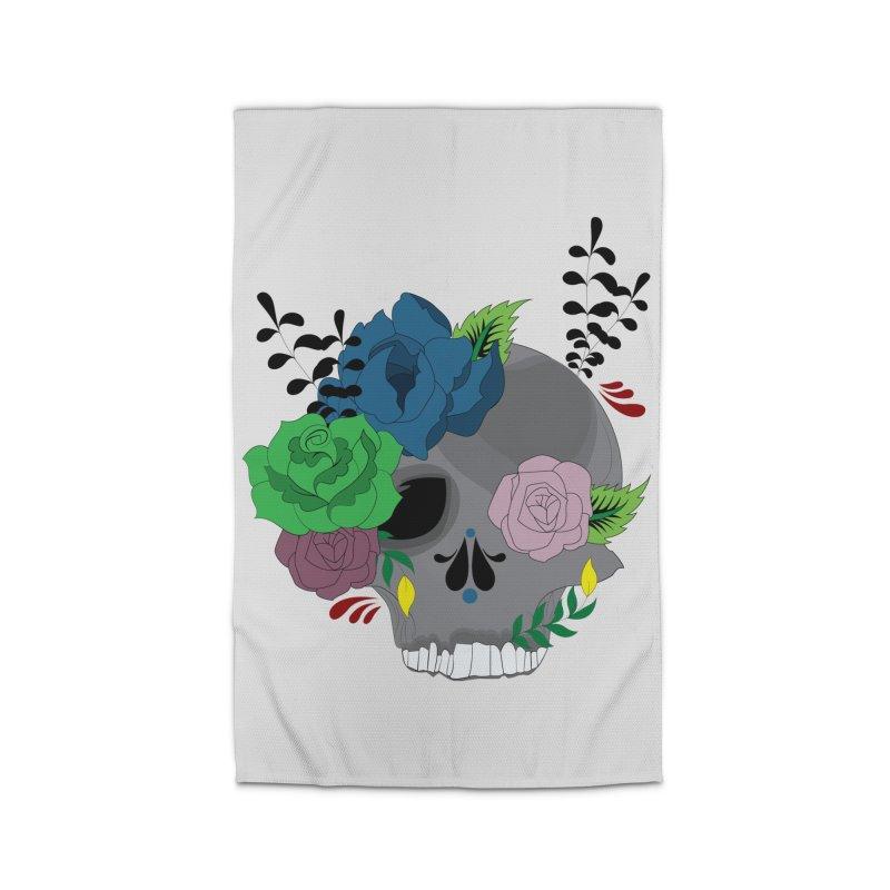 Dark Grey Sugar Candy 2 Home Rug by Working Whatnot's Artist Shop