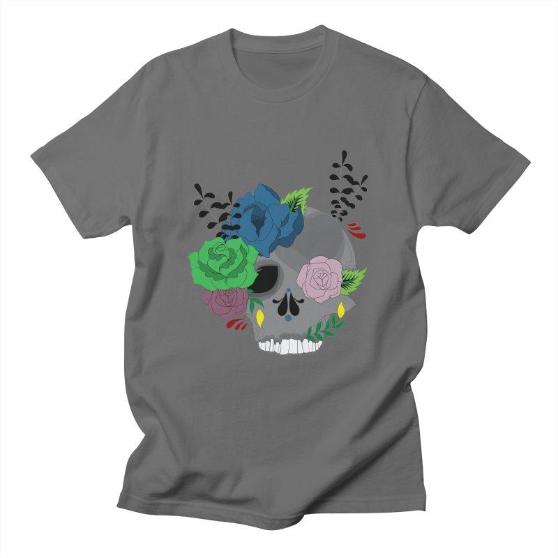 Dark Grey Sugar Candy 2 Men's T-Shirt by Working Whatnot's Artist Shop