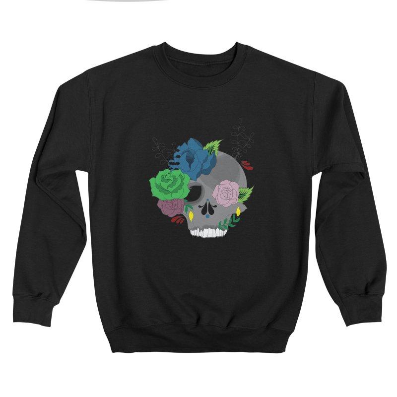 Dark Grey Sugar Candy 2 Men's Sweatshirt by Working Whatnot's Artist Shop