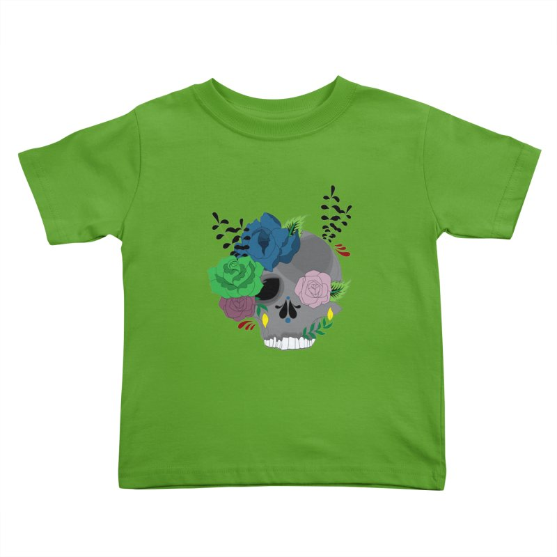 Dark Grey Sugar Candy 2 Kids Toddler T-Shirt by Working Whatnot's Artist Shop