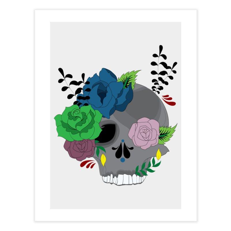 Dark Grey Sugar Candy 2 Home Fine Art Print by Working Whatnot's Artist Shop