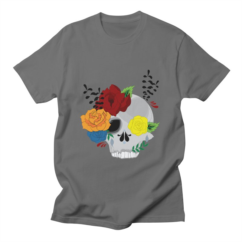 Grey Sugar Candy 2 Men's T-Shirt by Working Whatnot's Artist Shop