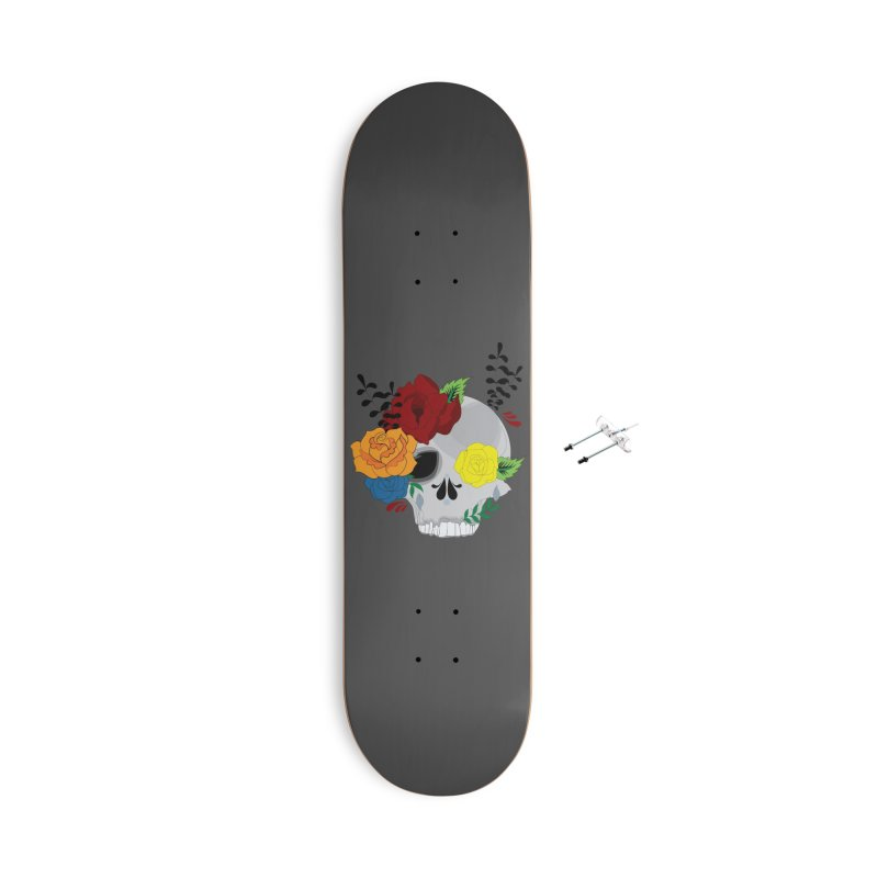 Grey Sugar Candy 2 Accessories Skateboard by Working Whatnot's Artist Shop