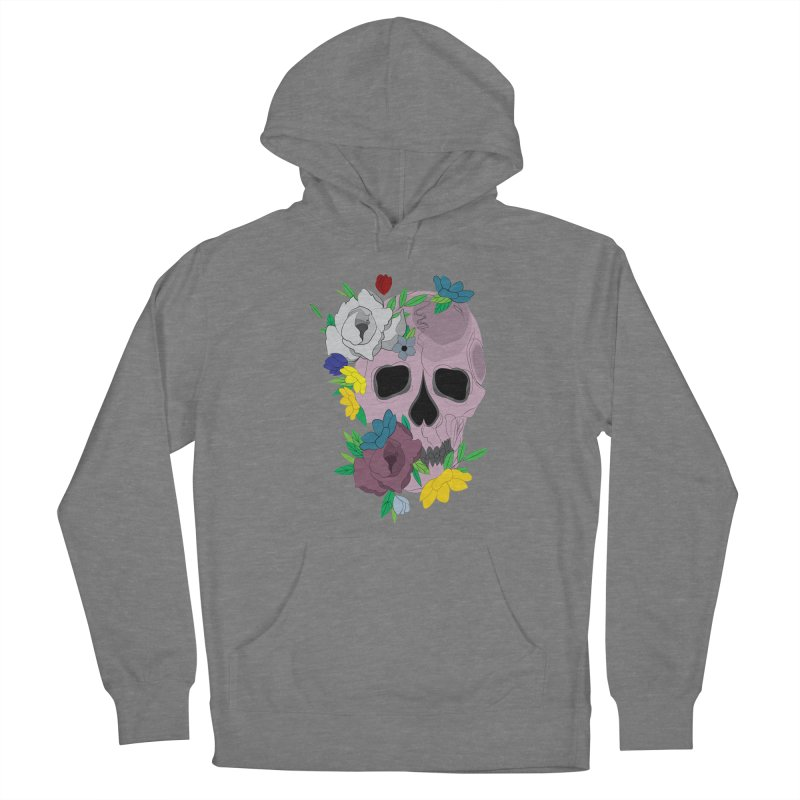 Pink Skull Candy Women's Pullover Hoody by Working Whatnot's Artist Shop