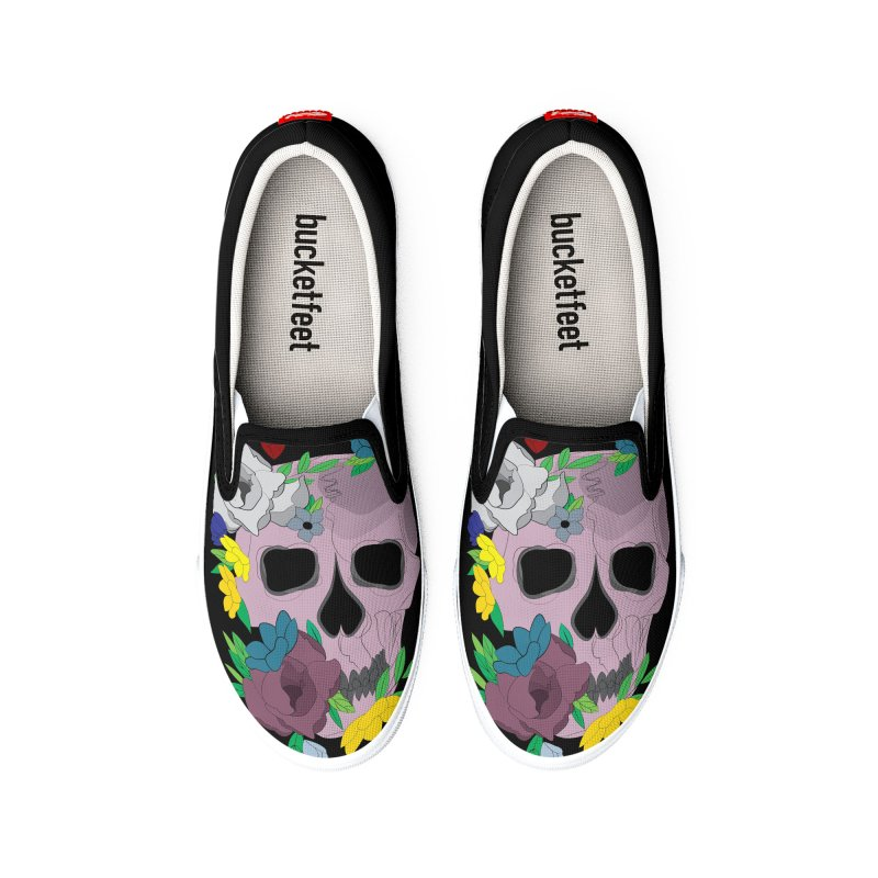 Pink Skull Candy Women's Shoes by Working Whatnot's Artist Shop