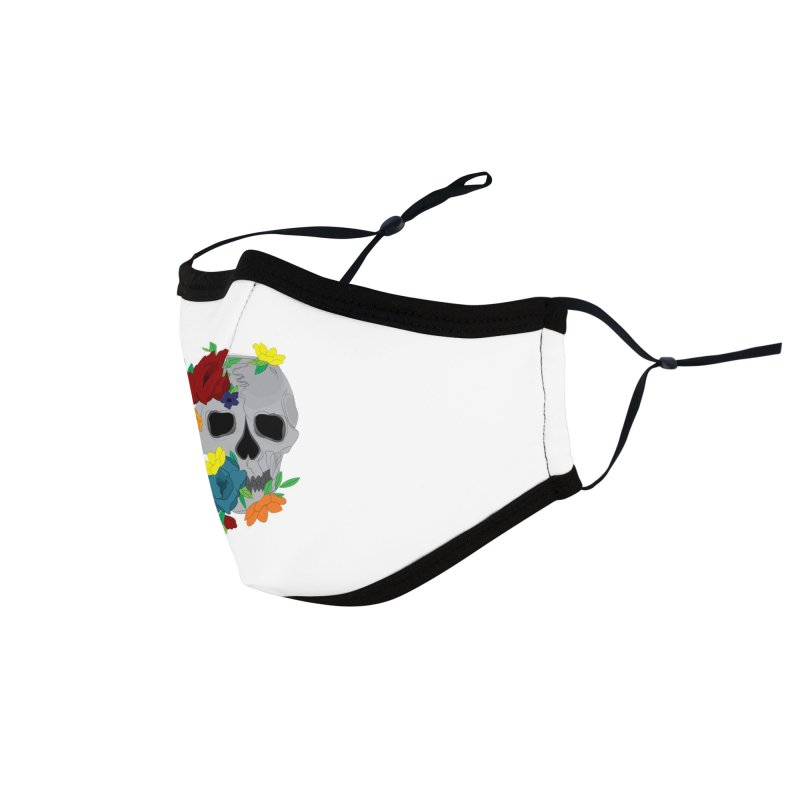 Skull Candy Accessories Face Mask by Working Whatnot's Artist Shop