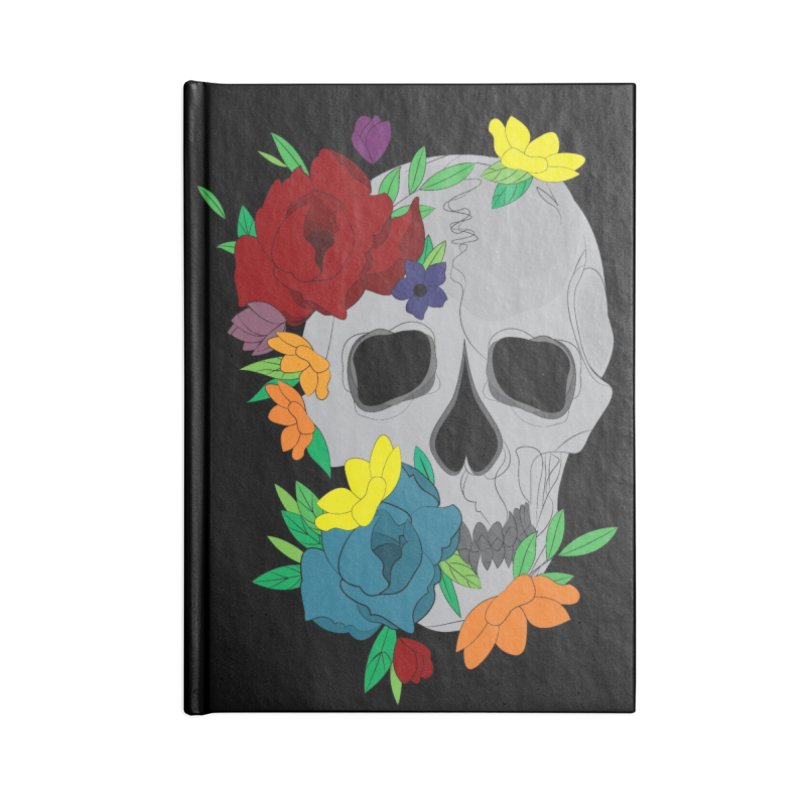 Skull Candy Accessories Notebook by Working Whatnot's Artist Shop