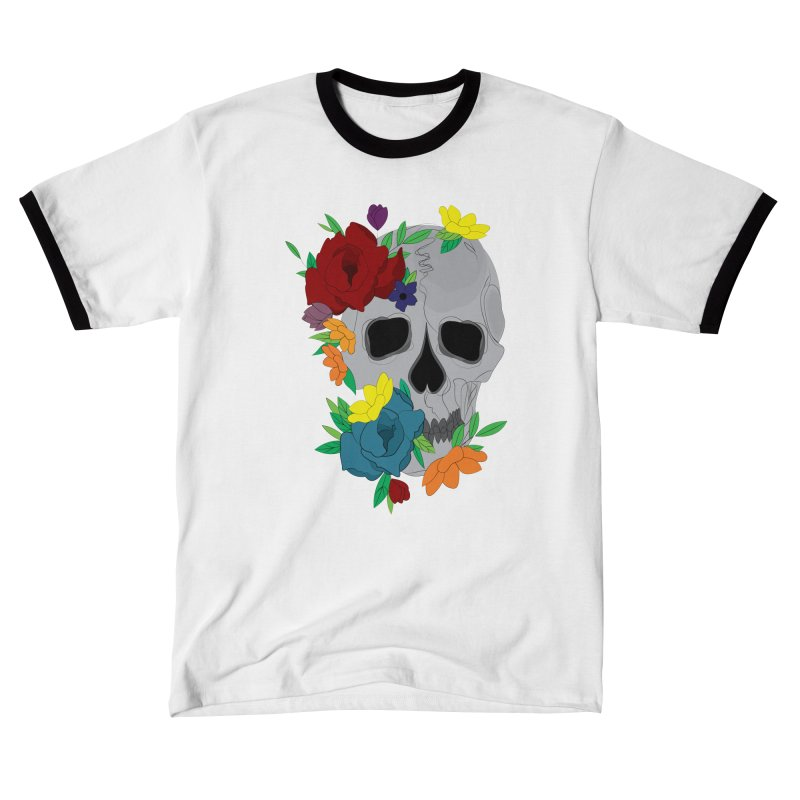 Skull Candy Men's T-Shirt by Working Whatnot's Artist Shop