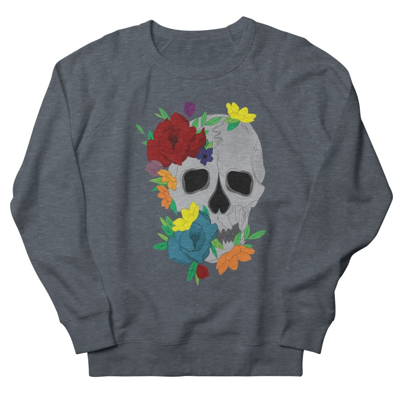 Skull Candy Men's Sweatshirt by Working Whatnot's Artist Shop