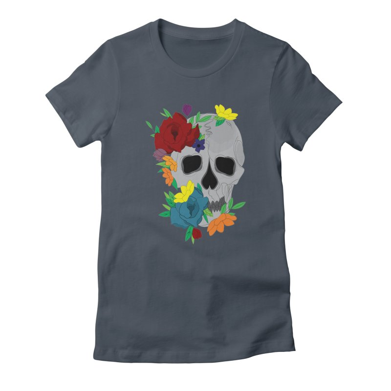 Skull Candy Women's T-Shirt by Working Whatnot's Artist Shop