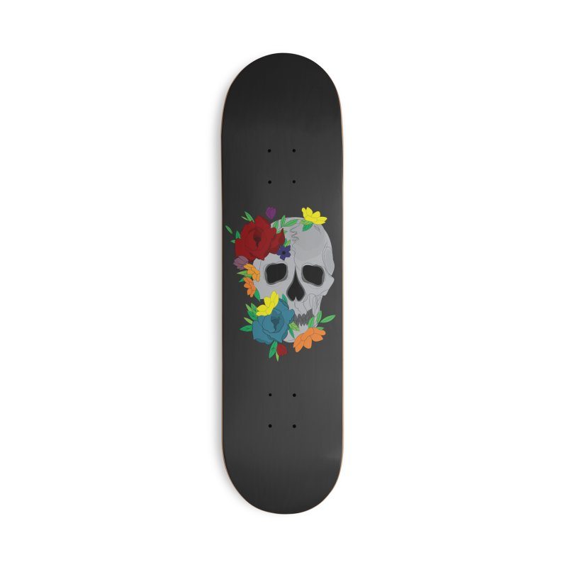 Skull Candy Accessories Skateboard by Working Whatnot's Artist Shop