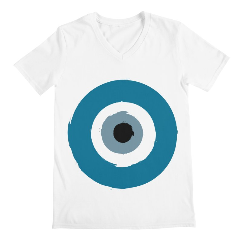 Working Whatnot Evil Eye Men's V-Neck by Working Whatnot's Artist Shop
