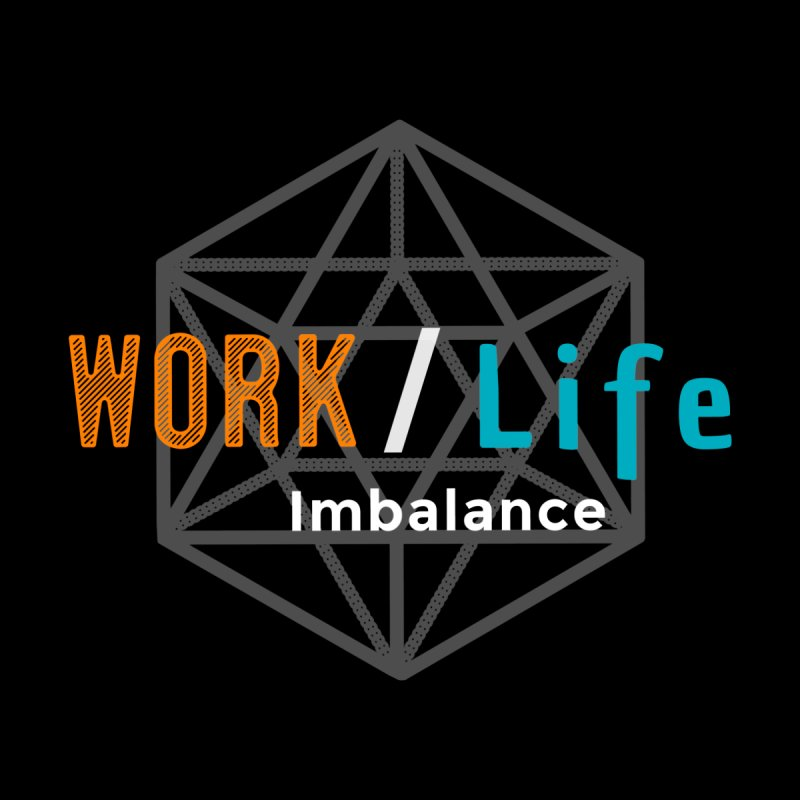 WLI Logo Merch Men's T-Shirt by Work/Life Imbalance