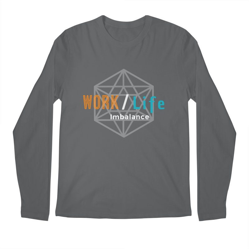 WLI Logo Merch Men's Longsleeve T-Shirt by worklifeimbalance's Artist Shop
