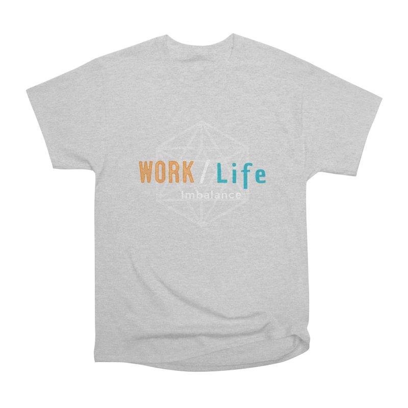 WLI Logo Merch Women's Heavyweight Unisex T-Shirt by worklifeimbalance's Artist Shop