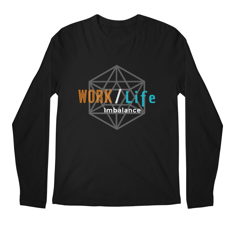 WLI Logo Merch Men's Regular Longsleeve T-Shirt by Work/Life Imbalance