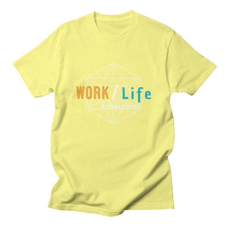 WLI Logo Merch Men's Regular T-Shirt by Work/Life Imbalance