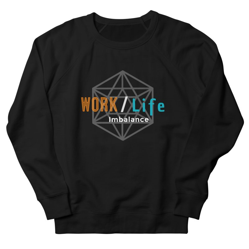 WLI Logo Merch Men's French Terry Sweatshirt by Work/Life Imbalance